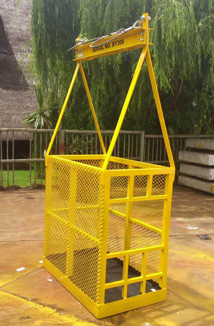 products crane safety cages aton engineering